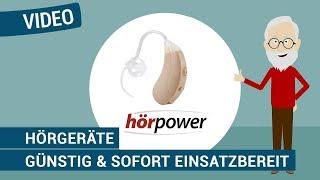 Produktvideo zu Hörgerät hörpower Premium (für beide Ohren)