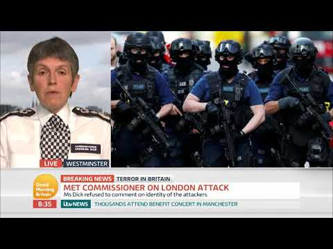 Commissioner of the Metropolitan Police Cressida Dick on Police Resources | Good Morning Britain