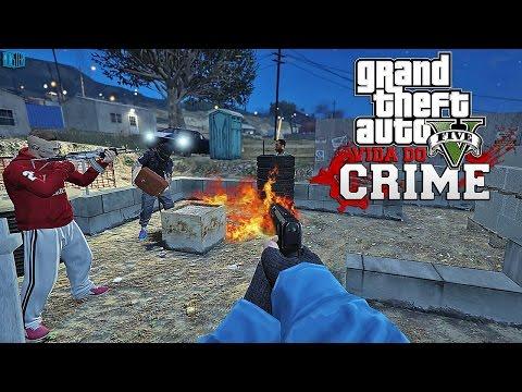 GTA V - Vida do Crime - Vendendo Droga na Quebrada Bonde MG Fortalecendo | Ep.08
