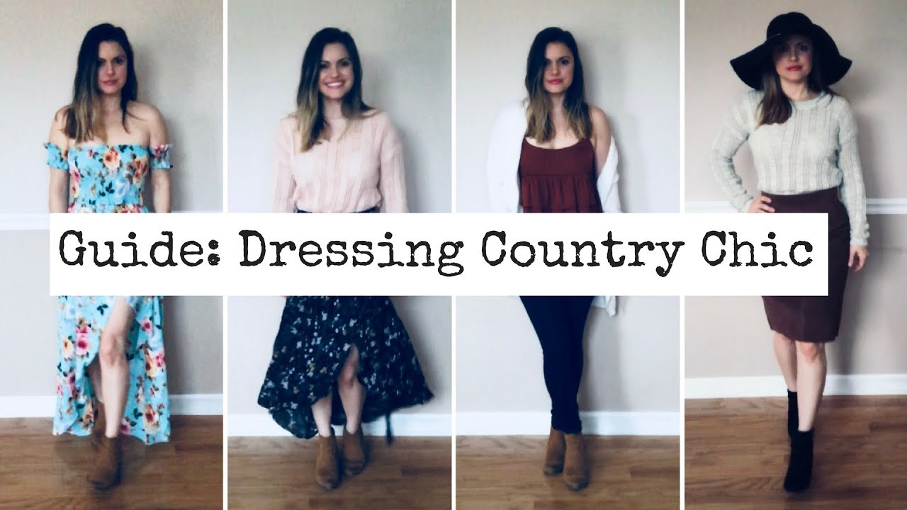 Guide Dressing Country Chic 2018 Youtube