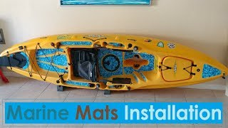 Marine Mat Installation on Hobie Outback