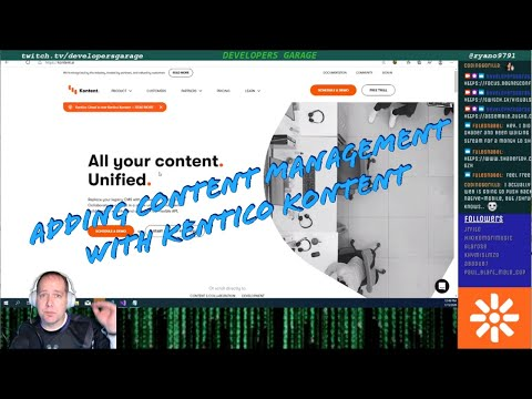 January 15, 2020 - Adding Content Management Using Kentico Kontent To A Blazor App