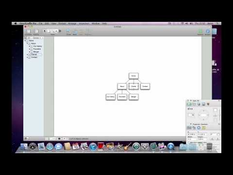 generating a site map in one minute with omnigraffle demo - Omnigraffle Sitemap Generator