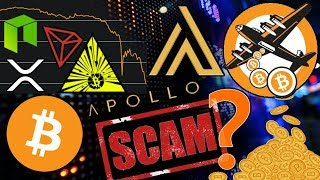 Is Apollo a SCAM?!? XRP Hostile Takeover?!? 5 Million in FREE Bitcoin Accidentally Airdropped!
