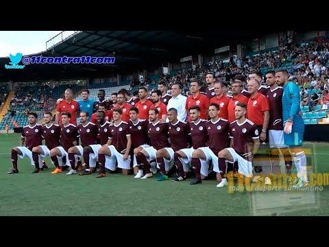 Presentación del CF Salamanca UDS en el estadio Helmántico