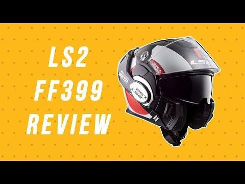 Mũ bảo hiểm LS2 399 Valiant - 2 chế độ sử dụng