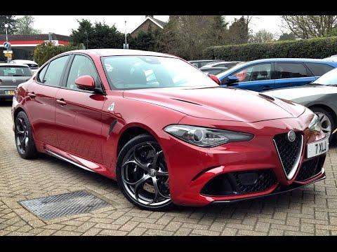 Alfa Romeo Giulia 2.9 BiTurbo V6 Quadrifoglio  for Sale at CMC-Cars, Near Brighton, Sussex