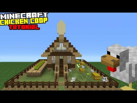 Minecraft Tutorial: How To Make A Chicken Coop