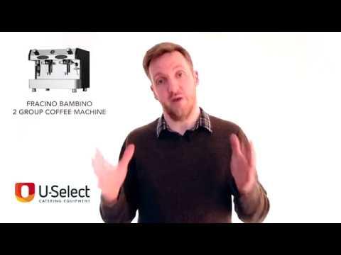 U-Select Catering Equipment Review - Fracino Bambino 2 Group Coffee Machine