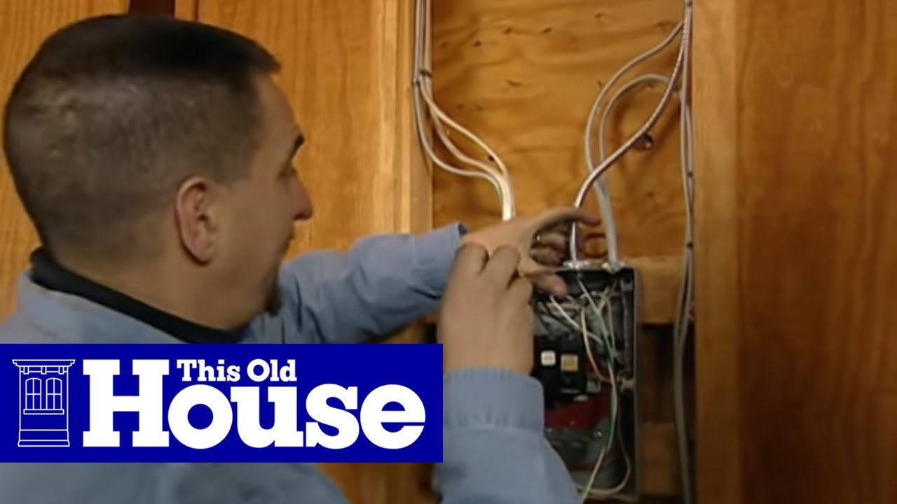 How to Connect a 220-Volt Receptacle to a 20-Amp Breaker | This Old  Prong Wiring Diagram Xyw Connections on