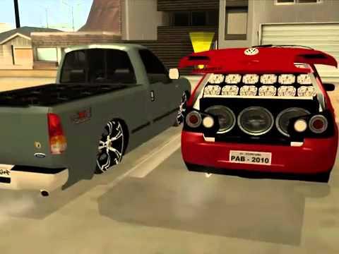 pacote de carros brasileiros tunados para gta san andreas