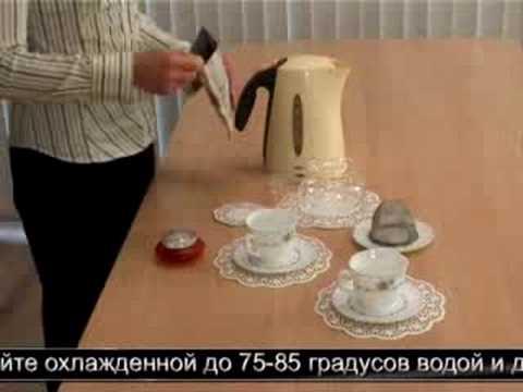 Зеленый чай: как правильно заваривать?