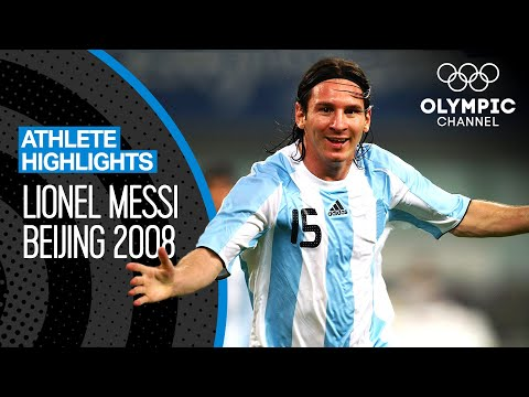 Lionel Messi 🇦🇷 At The Olympics! | Athlete Highlights