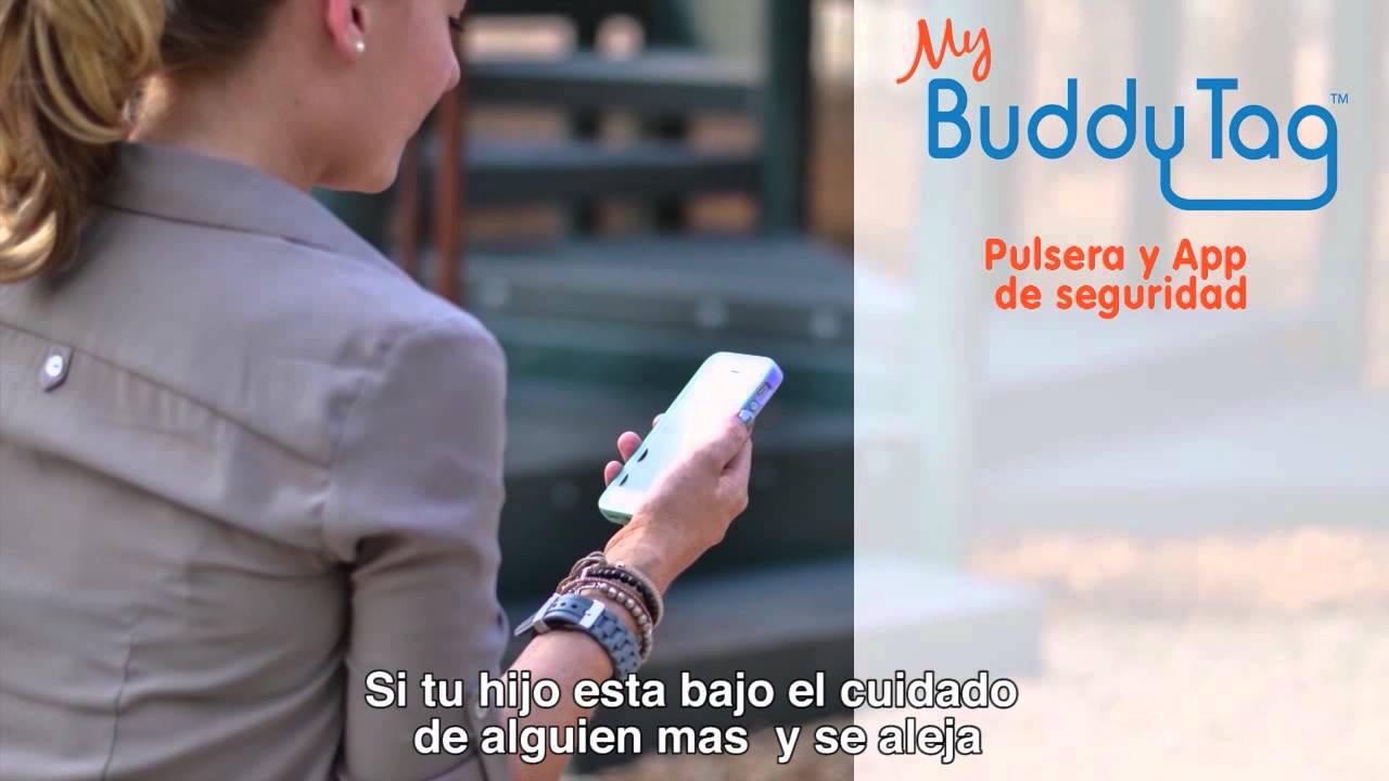895c897ac7be Pulsera de seguridad infantil My Buddy Tag Monitor para bebés, herramienta  de apoyo en el cuidado de tus hijos, Mod. Silicon Rosa