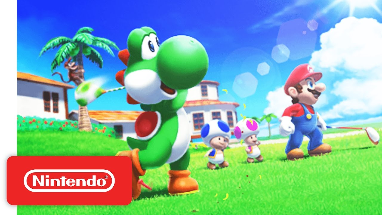Mario Sports Superstars Nintendo 3DS - Golf Trailer