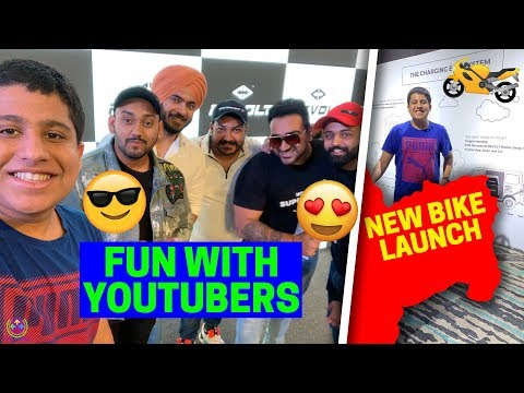 New Electric Bike Launch | Fun With BIG YouTubers | 😍😎🔥