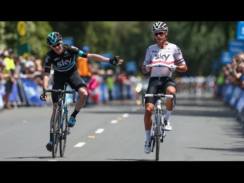 JAYCO HERALD SUN TOUR 2016 - STAGE 2 (Peter Kennaugh vs Chris Froome)