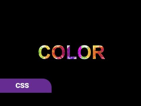 CSS3 Animation Text Filling With Color PURE CSS Tutorial #2