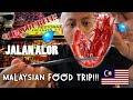 OMG! UNBELIEVABLE MALAYSIAN FOOD TRIP (Jalan Alor Steet) | Vlog #12