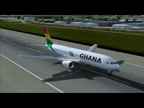 Ghana International G0101 767-300ER TF-LLA Accra (ACC) - London (LGW)