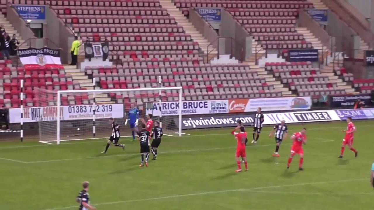 HIGHLIGHTS | Dunfermline 4-3 St Mirren