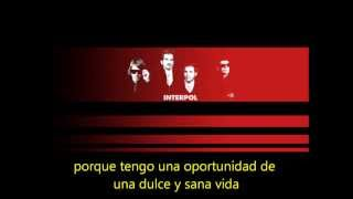 Interpol - The heinrich Maneuver  subtitulada en español