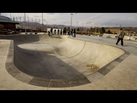 The Newest Colorado SkatePark in Golden and it
