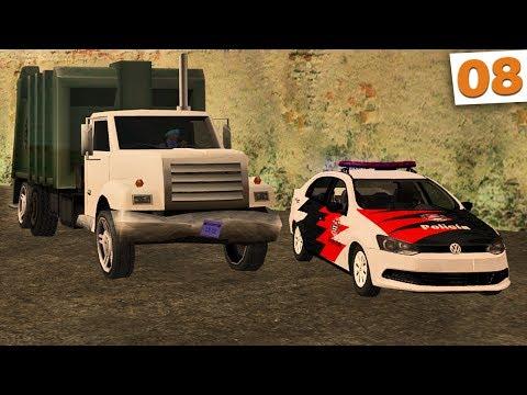 GTA Multiplayer - Perseguição ao Caminhão de Lixo