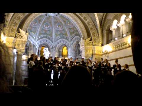 Pro Musica Hungarica Choeur de l'Université Lóránd Eötvös de Budapest - Lyon Fourvière 9/13