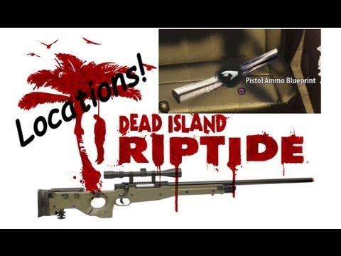 Dead Island Riptide Blueprint Pistol