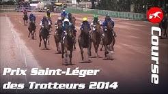 Prix Saint-Léger des Trotteurs 2014 - La course