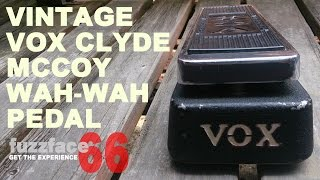 Vintage Vox Clyde McCoy Sound Demo Vol.1 /Jimi Hendrix