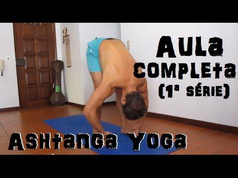 Aula Completa de Ashtanga Vinyasa Yoga | Primeira Série com Bruno Bártulitch