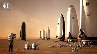 Первая постоянная колония на Марсе.