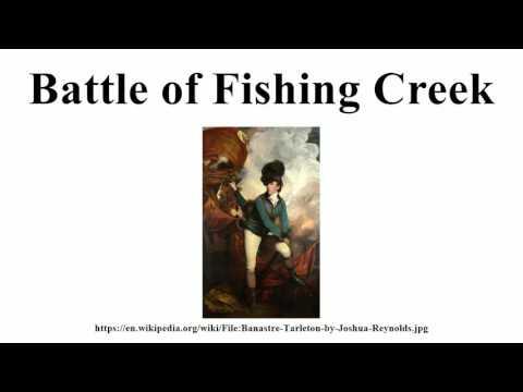Battle of Fishing Creek
