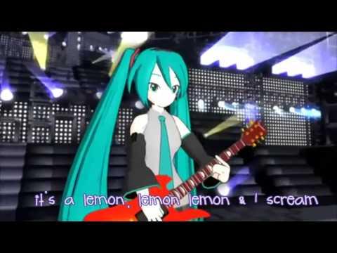 [HD] LEMONed I Scream - miku hatsune / 【第2回MMD杯本選】レモネードアイスクリーム