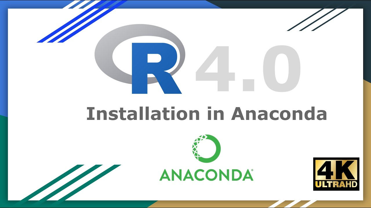 R for Machine Learning    How to Install R 4.0 in Anaconda on Windows 10   R Programming