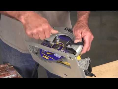 How to change a circular saw blade youtube how to change a circular saw blade greentooth Images