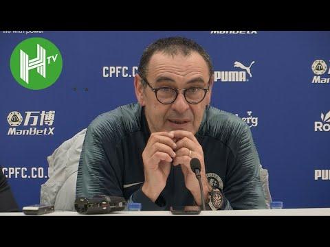 Crystal Palace 0-1 Chelsea | Maurizio Sarri: Loftus-Cheek & Barkley can learn from N'Golo Kante
