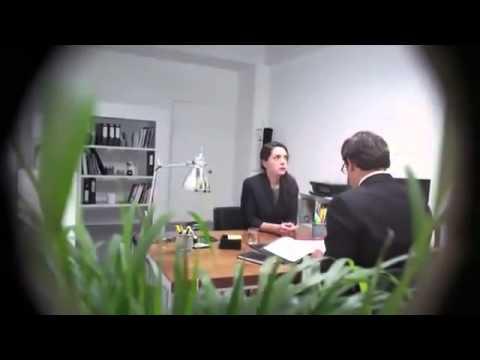Scary Armageddon Prank during Job Interview