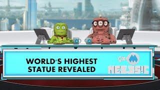 9XM Newsic | World's Highest Statue | Bade | Chote