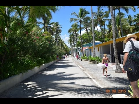 To the Beach on Calle Caribena in Punta Cana, Dominican Republic