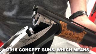 The King: A Benelli Concept Shotgun