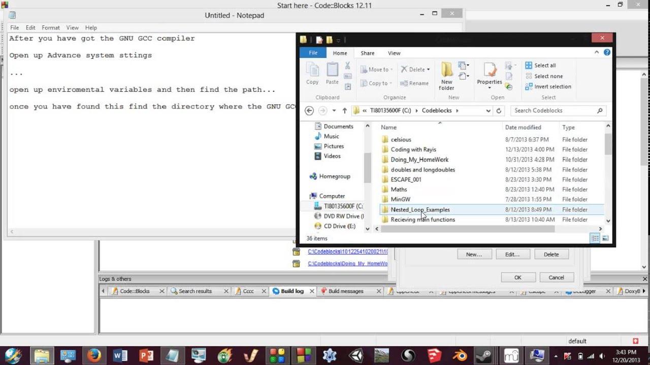 gnu gcc compiler for avr code blocks download