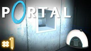Portal |#1| Прохождение игры! (Надо выбираться отсюда!)