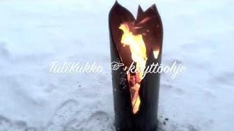 """Veikko ja Eija Lesonen """"TuliKukko""""  joulutervehdys 2015"""