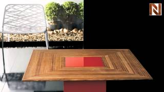 Modloft Mce17900-m2l7 Fitzroy Coffee Table Teka Red Lacquer