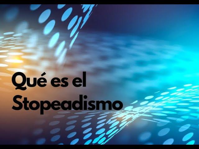 Descubre qué es el STOPEDADISMO - Fundación ASISPA - Negocios de Carne y Hueso