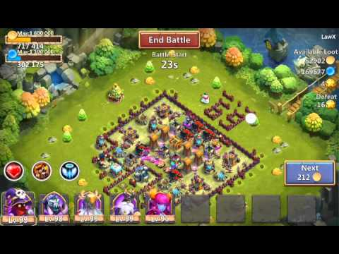 Castle Clash How Not To Raid (: