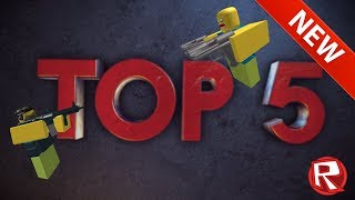 TOP 5 BEST GAME SPF Auf ROBLOX!